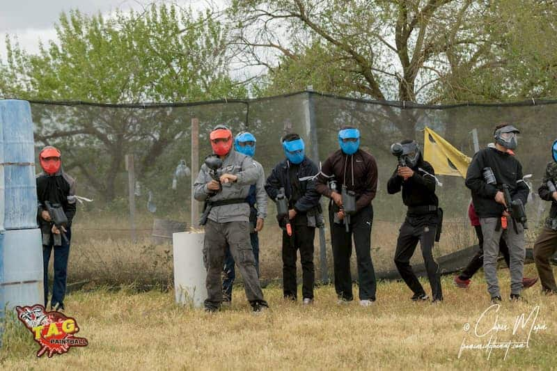 parties at TAG Paintball